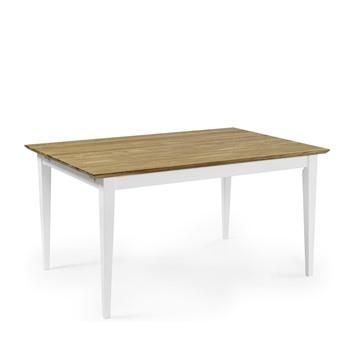 Bild på Ekliden matbord vit/ek