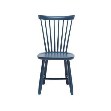 Bild på Lilla Åland stol björk midnattsblå