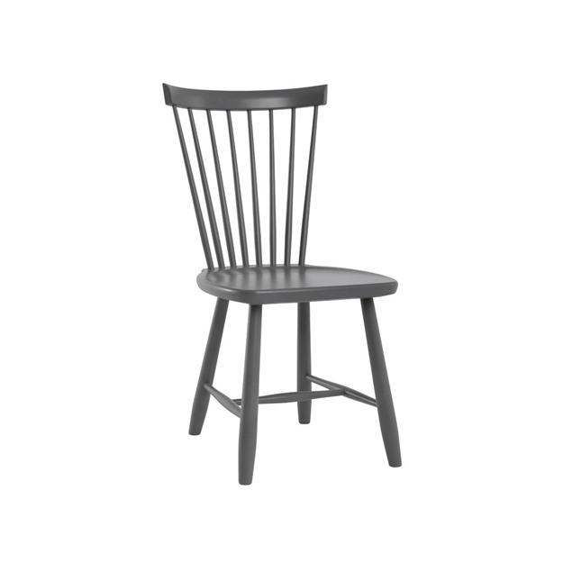 Bild på Lilla Åland stol björk mörkgrå