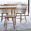 Bild på Lilla Åland stol i ek