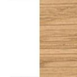 Ekfanér naturoljad med vit lamninat skiva [- 5 400 kr]
