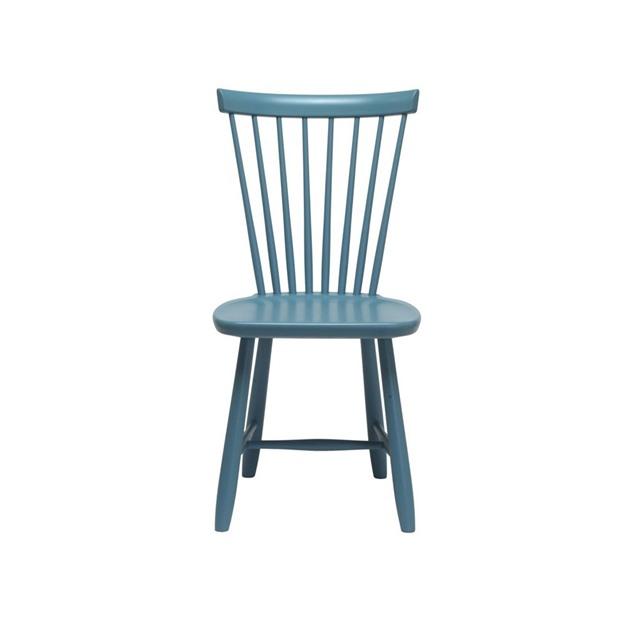 Bild på Lilla Åland stol björk Gryningsblå