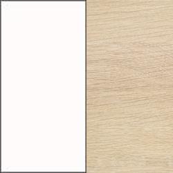 Vitlack med vitpigmenterad ek topp [+ 305 kr]