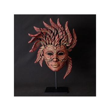 Bild på Carnival Mask röd/guld
