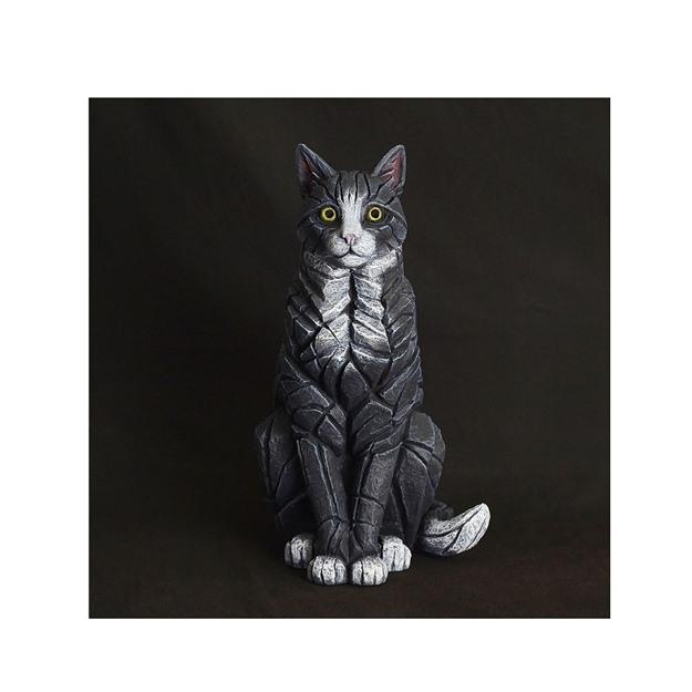 Bild på Cat sitting black/white