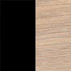 Svart nano-laminat med vitoljad ek [-4 000 kr]