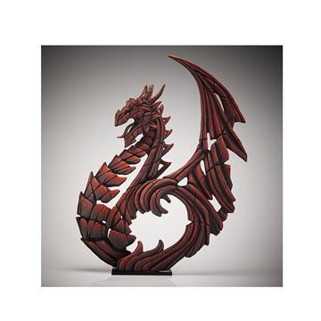 Bild på Heraldic Dragon röd