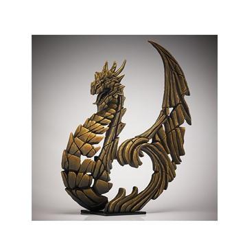 Bild på Heraldic Dragon guld