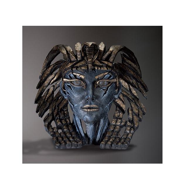Bild på Cleopatra Bust Egyptian blue