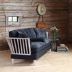 Bild på Särö 3-sits soffa med fårskinn