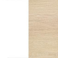 Ekfanér vitoljad med vit lamninat skiva [+ 1 300 kr]