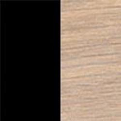 Ekfanér vitoljad med svart nano-lamninat skiva [+  500 kr]