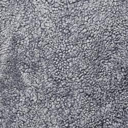 Fårskinn Skinnwille Grey/Tyg Facet 4 mörkgrå