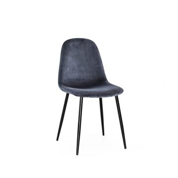 Bild på Thea stol grå sammet