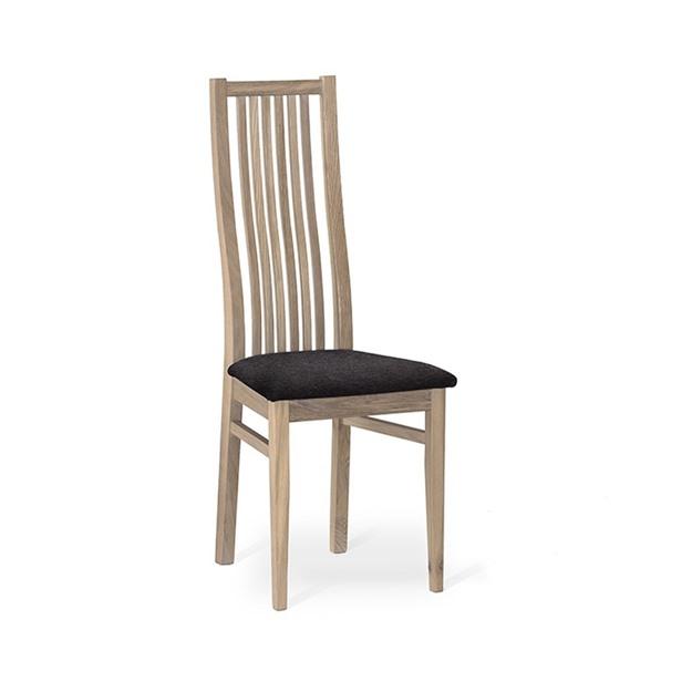 Bild på Garda stol vitoljad ek