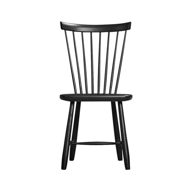 Bild på Lilla Åland stol ek mattsvart