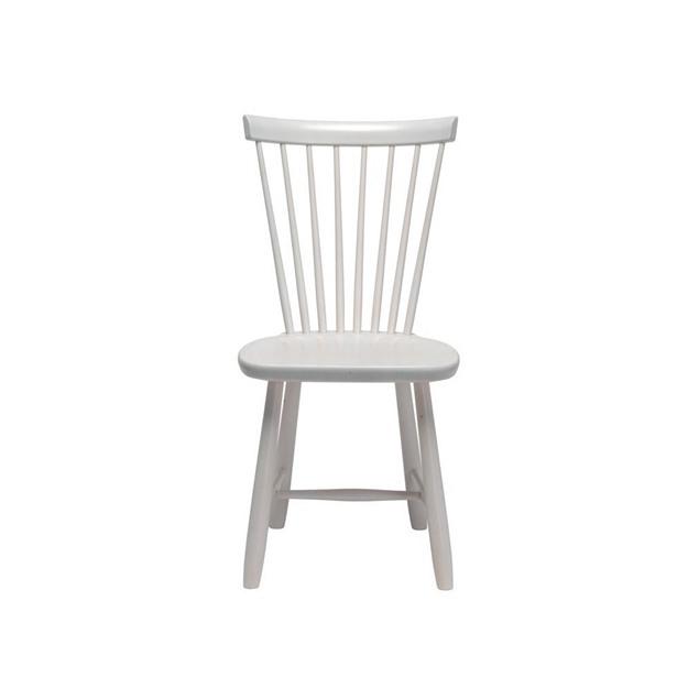 Bild på Lilla Åland stol björk vit
