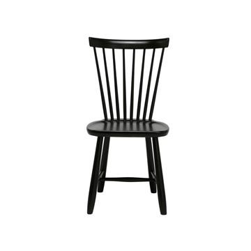 Bild på Lilla Åland stol björk svart