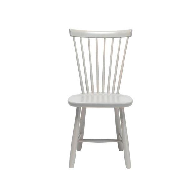 Bild på Lilla Åland stol björk Ljusgrå