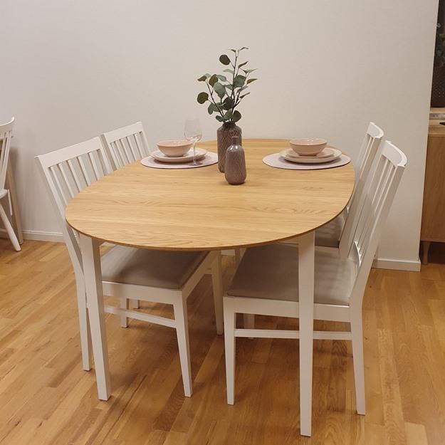 Bild på Ballerina matbord och stolar (butiks ex)