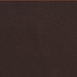 Läder bonded brun