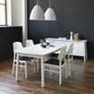 Bild på Verona matbord ellips 137(48)x90cm